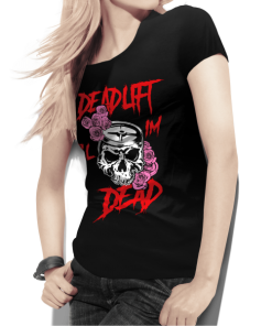 Deadlift Skull T-Shirt