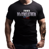 I'm With Mayweather T-Shirt Front
