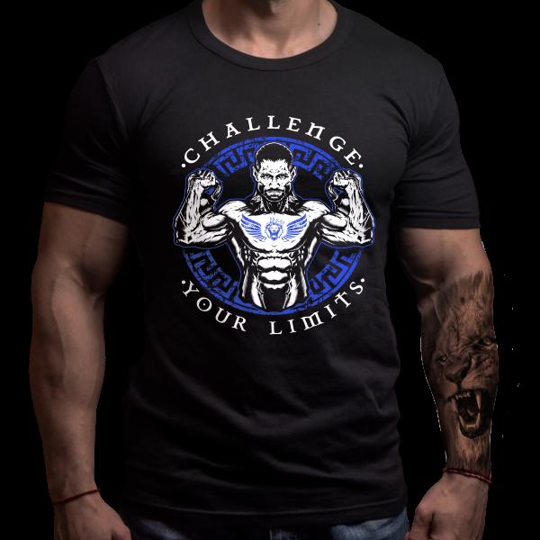 Crossfit Chalenge T-Shirt Front