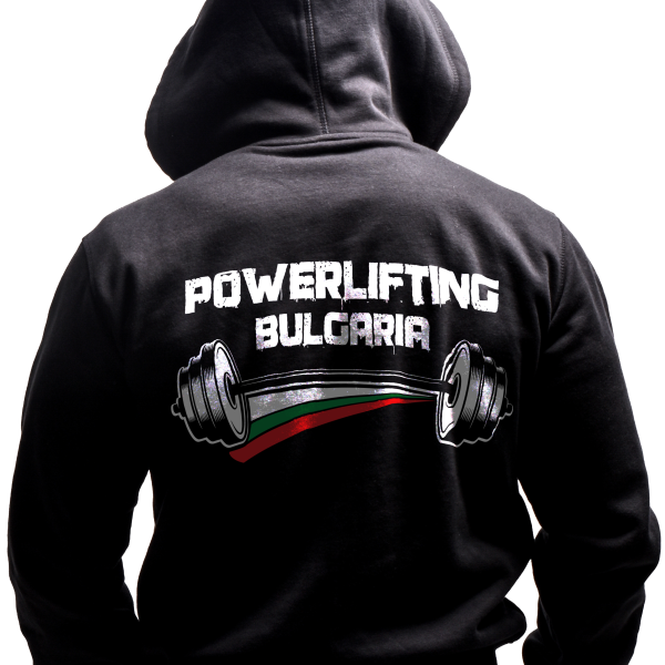 Powerlifting Sweatshirt Back