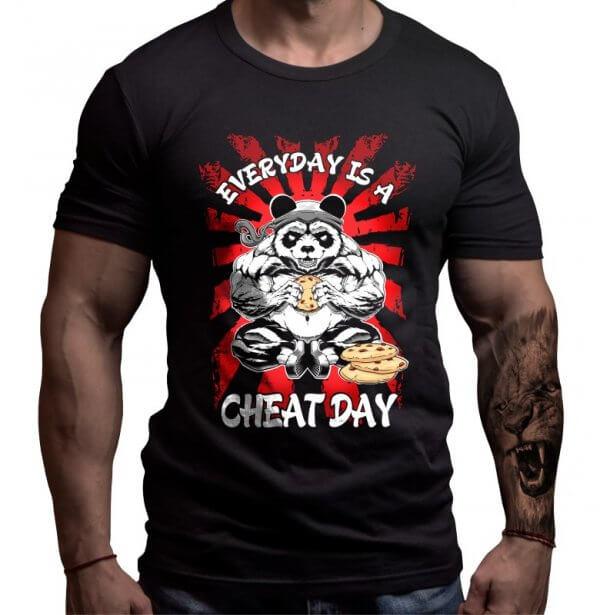 панда-тениска-лъвски-фитнес