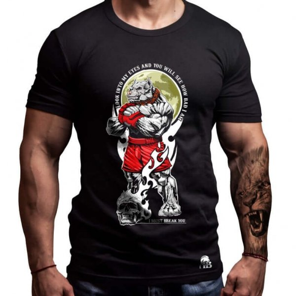 питбул-мма-тениска-лъвски