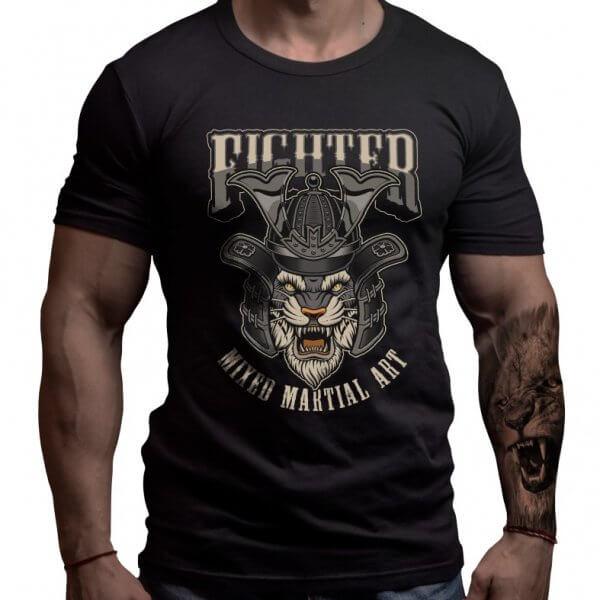боец-мма-тениска-лъвски