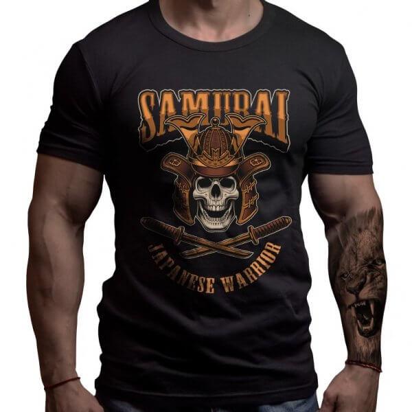 самурай-карате-тениска-лъвски