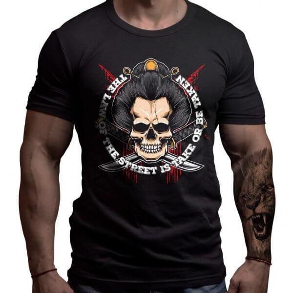 якудза-тениска-лъвски