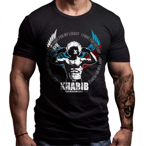 хабиб-нурмагомедов-мма-тениска-лъвски